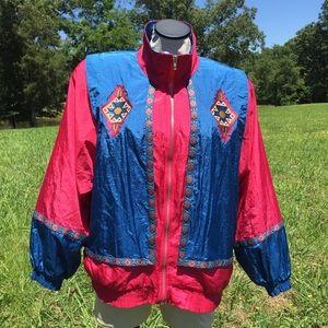 Vintage Westbound Aztec Southwestern Track Jacket